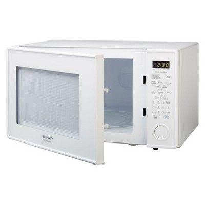 Sharp Carousel 1 8 Cu Ft 1100 Watt Countertop Microwave Oven