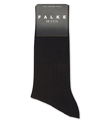 Brown Falke Mens Bristol Socks