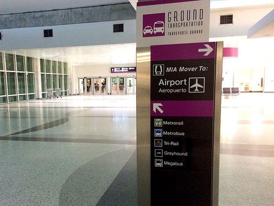placas - aeroporto miami