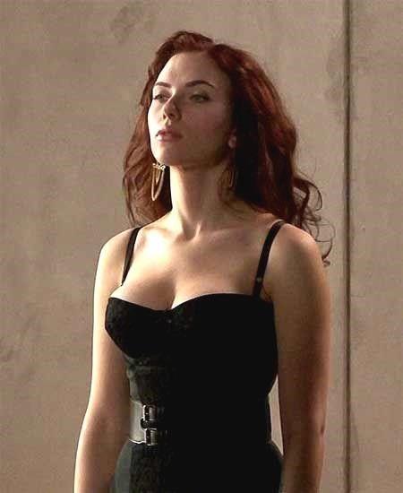 Scarlett Johansson Black Widow role