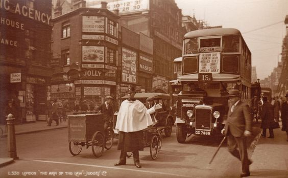 Check Out These Old Postcards Of The Square Mile - Gems from Judge's of Hastings.