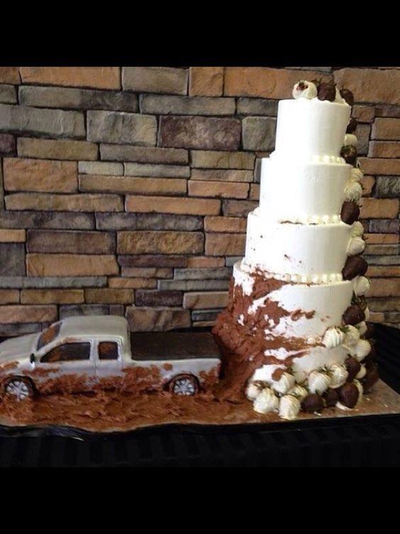 Funny groom cake