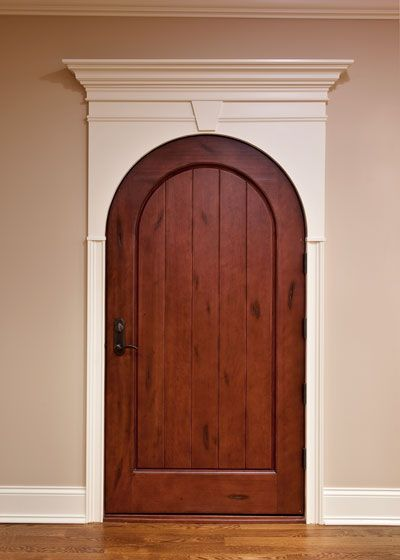 Arched Interior Door Withing Rectangular Frame Image Detail For Arched Interior Doors Glass