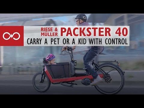 Review Riese Muller Packster 40 Electric Bike Youtube