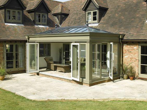 Traditional or modern oak/hardwood orangeries   The English Glasshouse, UK