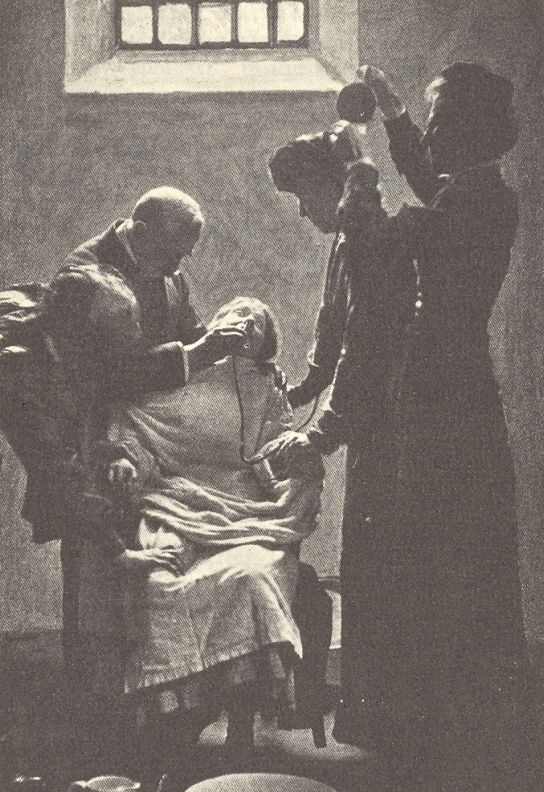 """""""Pankhurst was horrified by the screams of women being force-fed during hunger strikes. In her autobiography she wrote: 'I shall never while I live forget the suffering I experienced during the days when those cries were ringing in my ears.'"""""""