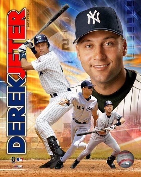 "Derek Jeter ""new York #Yankees"" Licensed Un-signed Poster Picture Pic 8x10 Photo from $6.99"