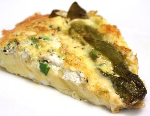 hatch chile stuffed omlet