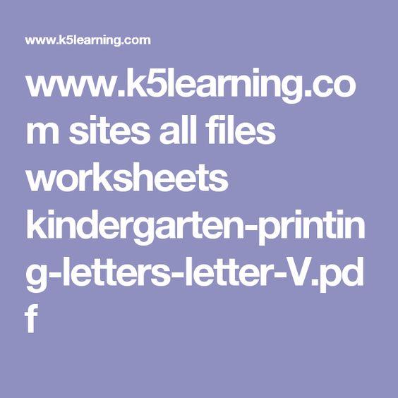 www.k5learning.com sites all files worksheets kindergarten ...
