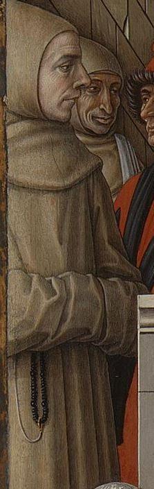 thumbnail The Annunciation, with Saint Emidius 1486, Carlo Crivelli