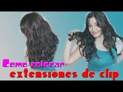 Extensiones onduladas Primark de Clip | Cómo Colocarlas - YouTube