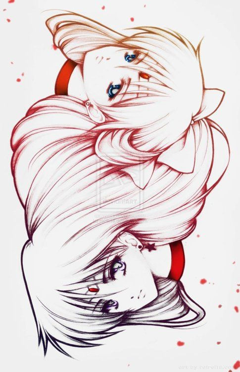 Sailor Venus and Sailor Mars
