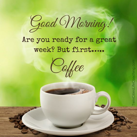 Good Morning Monday In French : Good morning happy monday grab a cup of coffee and