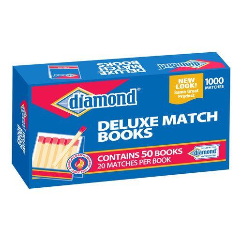 Diamond 32ct Strike on Box Matches, 10pk: Camping : Walmart.com