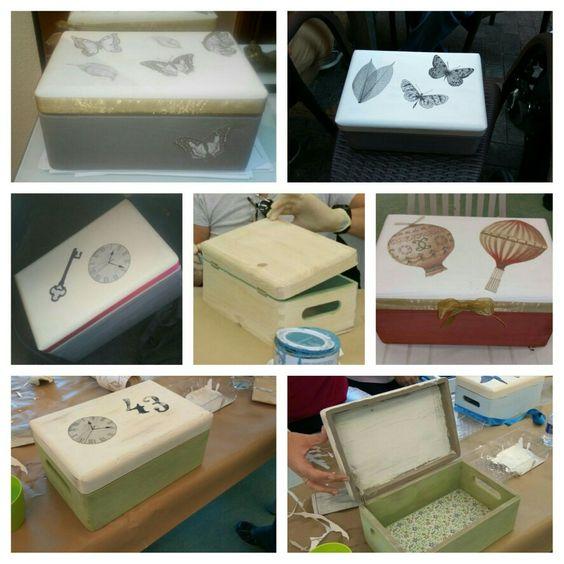 Leroy merlin caja de madera decorada con pintura a la - Pintura para madera leroy merlin ...