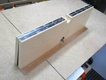 Homemade Dual Tilting Router Table Fence