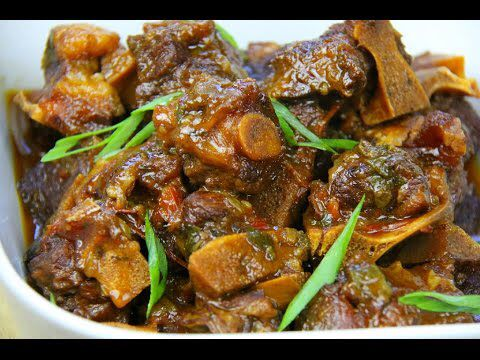 WARNING! The BEST Stewed Oxtails Recipe | CaribbeanPot.com - Jamaican Videos