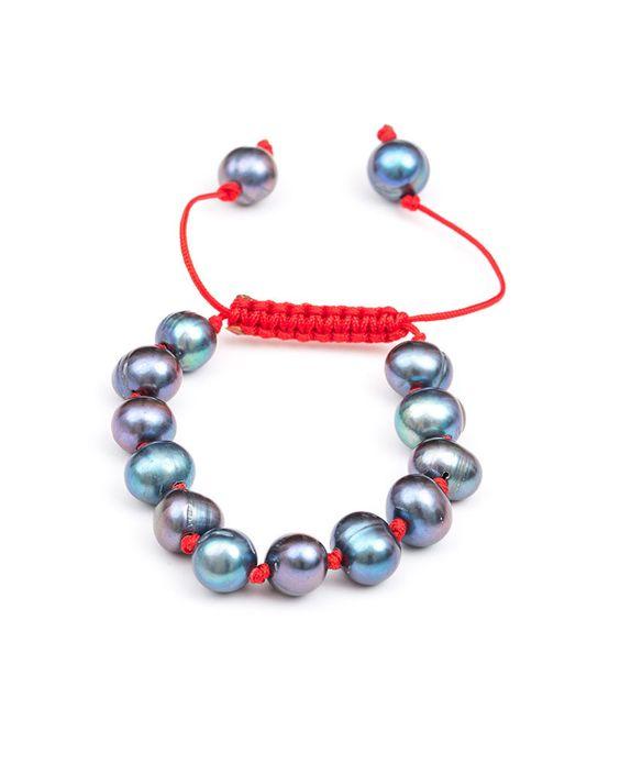 Meridian Avenue Peacock Pearl Bracelet   Love & Pieces Online Jewelry – Love & Pieces   Designer Online Jewelry Boutique
