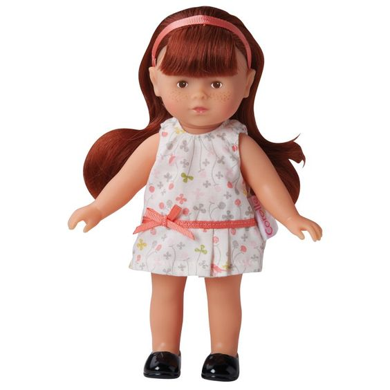 Corolle Mademoiselle Mini Corolline Redhead 8 in. Doll - Y8381