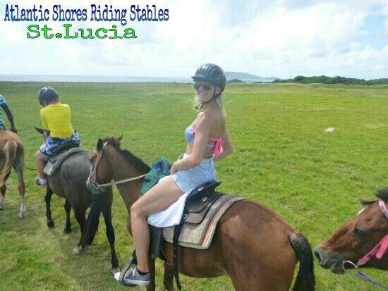 Horseback Riding in St.Lucia