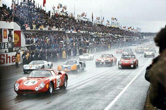 Classic Le Mans start