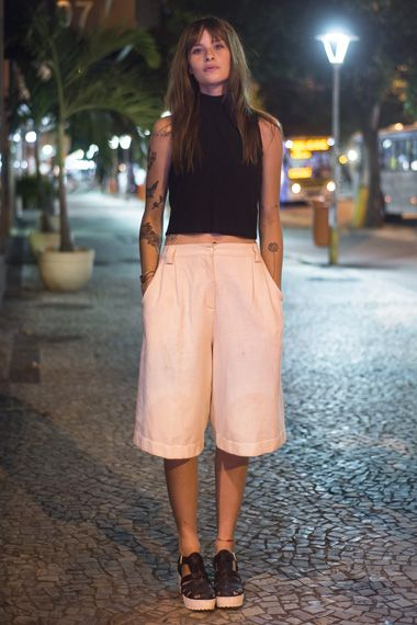 Looks do Rio - Gola Alta: