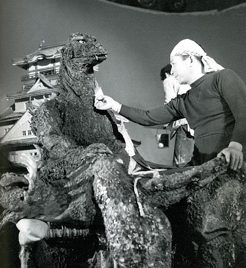 Behind the scenes of Godzilla movies, 1954-1965 | Retronaut