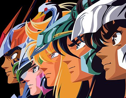 "Check out new work on my @Behance portfolio: ""Cavaleiros do zodiaco - Saint Seiya"" http://be.net/gallery/40345331/Cavaleiros-do-zodiaco-Saint-Seiya"