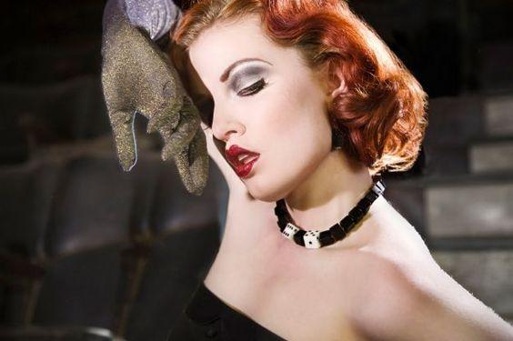 Дерзкий макияж в стиле Чикаго 30-х годов ::: onelady.ru ::: #makeup #eyes #eyemakeup