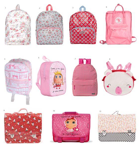 A decisão do colégio, a mochila da baby C e outras mini-mochilas