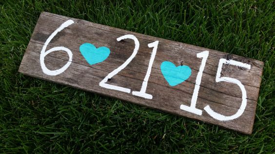 Rustic save the date  wedding/engagement sign by whatsyoursigndesigns, $22.00