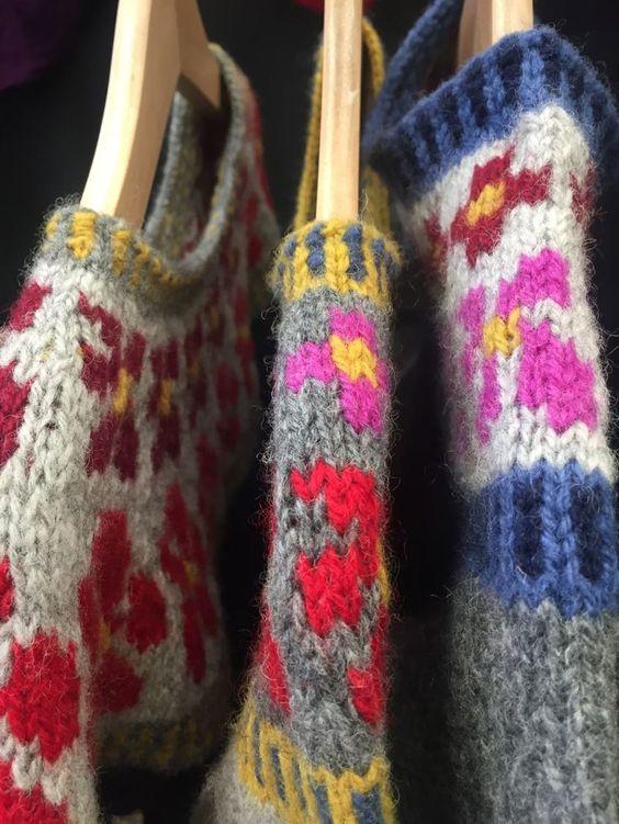 Mini Solja sweaters by Anna Maltz| my life in knitwear ||