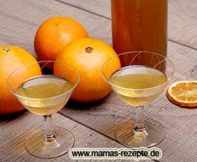 Rezept Orangenlikör   Mamas Rezepte - mit Bild und Kalorienangaben