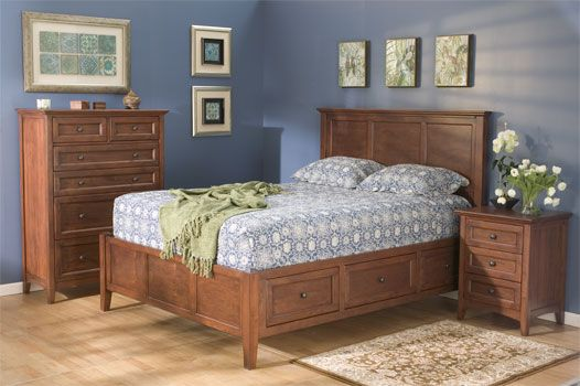Unfinished Wood Bedroom Furniture