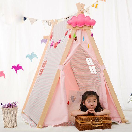 Praça casa brinquedo do bebê crianças brincam tenda tendas de tecido casa de jogo do bebê casa de bonecas tenda: