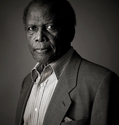 Sidney Poitier by Andy Gotts.  American actor, film director, author, & diplomat. In 1963, Poitier became the first black person to win an Academy Award for Best Actor[2] for his role in Lilies of the Field.