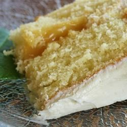 The Best One-Bowl Yellow Cake with Marshmallow Cream Frosting