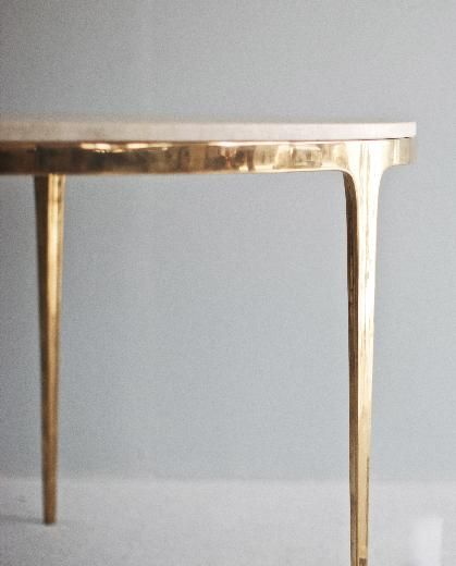 Lovely Hello@barberadesign.com The BRONZE Table Comprises Of Two Components, The  Solid Hand Cast Bronze Base, And The Table Top.The Bronze Base Is Hand Pou2026