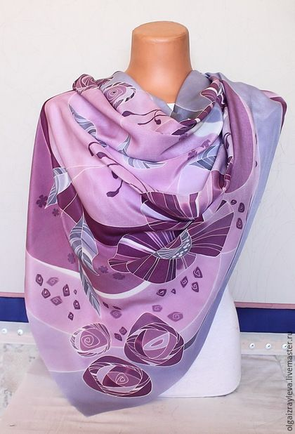 Ярмарка мастеров батик платок