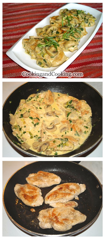 Chicken with Tarragon Mustard Sauce Recipe | The Main Dish ...