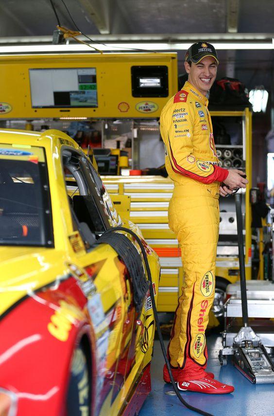 Joey Logano Photos - Charlotte Motor Speedway - Day 2 - Zimbio