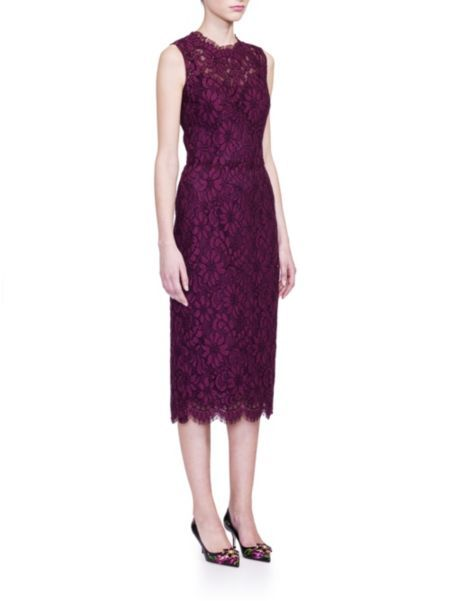 Dolce & Gabbana - Sleeveless Jackie Lace Dress