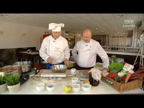 Raczka Gotuje Barszcz Z Koldunami Mloda Kapusta Zasmazana I Ciasto Z Rabarbarem I Budyniem Youtube Polish Recipes Cooking Videos Cooking