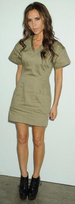 Victoria Beckham: Dress - Victoria Beckham Collection
