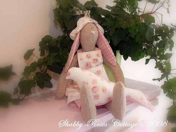 Tilda Rabbit: Pretty Rabbits, Tilda Rabbit, Tilda Dolls, Tilda Bunny, Dockor Tilda, Maileg Rabbits, Rabbit Bloggt, Dolls Tilda, Sewing Tilda