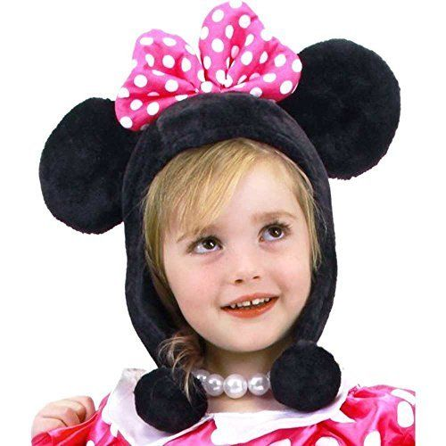 Elope Toddler Minnie Mouse Bow-Tique Hoodie Hat by elope…
