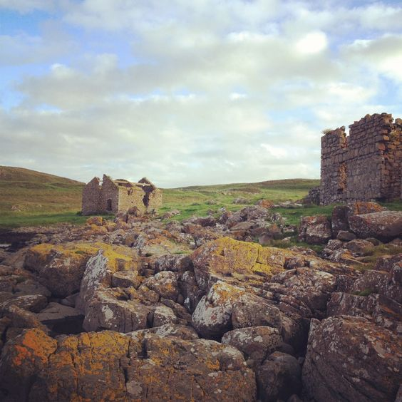 Isla de Rathlin, Irlanda del Norte.