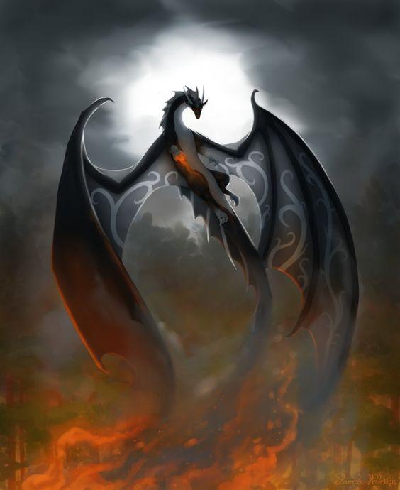 Dragon volando