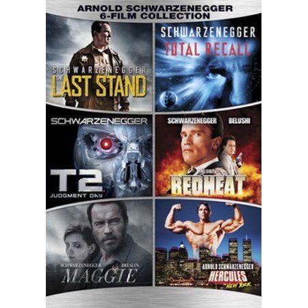 Arnold Schwarzenegger 6 Film Collection Dvd Walmart Com Arnold Schwarzenegger Schwarzenegger Film