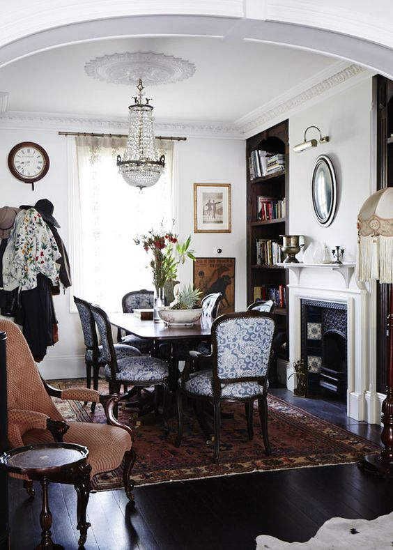 Design files sydney and dining rooms on pinterest for Terraced house dining room ideas